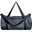 Duffle bag striped silver dark blue - PPMC
