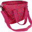 Sac Lunch Isotherme pompons cerise