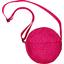 Round bag etoile or fuchsia - PPMC