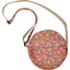 Sac rond floral pêche - PPMC