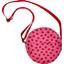 bolsa redonda cuadros vichy rojo y mariquitas - PPMC