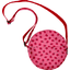 Round bag ladybird gingham - PPMC