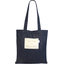 Tote bag navy gold star - PPMC