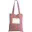 Sac tote bag lichen prune rose