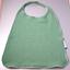 Serviette enfant élastique gaze vert sauge - PPMC