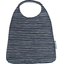 Elastic napkin child striped silver dark blue - PPMC