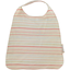 Elastic napkin child silver pink striped - PPMC