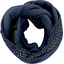 Fleece snood one-size etoile or marine  - PPMC