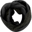 Fleece snood one-size noir pailleté - PPMC