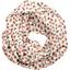 Snood tissu adulte confetti aqua - PPMC