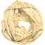 Snood tissu adulte mimosa jaune rose - PPMC