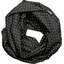 Snood tissu adulte  paille dorée noir - PPMC
