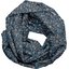 Fabric snood adult paquerette marine - PPMC