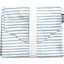 Changing pad striped blue gray glitter - PPMC