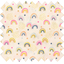 Cotton fabric rainbow - PPMC