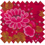 Cotton fabric garnet firework - PPMC