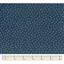 Cotton fabric bulle bronze marine