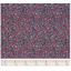Cotton fabric camelias rubis