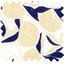 Cotton fabric citrons dorés - PPMC