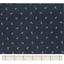 Tissu coton au mètre ancre marine ex1068