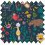 Cotton fabric exotic animals - PPMC