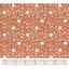 Tissu coton au mètre papillon terracotta ex1096
