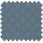 Cotton fabric copper stars denim blue - PPMC