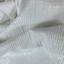 Tissu coton gaze lurex blanc
