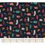 Tissu coton grizzli