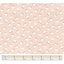 Tissu coton mouton rose
