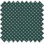 Tissu coton pois blanc vert - PPMC