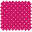 Cotton fabric fuschia spots - PPMC