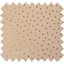 Cotton fabric pink coppers spots - PPMC