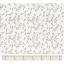 Cotton fabric tige noel ivoire