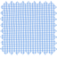 Cotton fabric sky blue gingham - PPMC