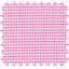 Cotton fabric fuschia gingham - PPMC