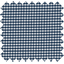 Cotton fabric navy blue gingham