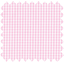 Cotton fabric pink gingham - PPMC