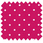 Coated fabric fuschia spots
