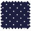 Coated fabric navy blue spots - PPMC