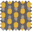 Tissu enduit ananas - PPMC