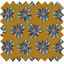 Coated fabric aniseed star