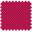Coated fabric fuchsia gold star - PPMC