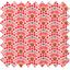 Tissu enduit  au mètre éventail rose ex1050 - PPMC