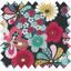 Tissu enduit fleurs du mékong - PPMC