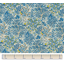 Coated fabric blue forest