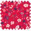Tissu enduit  au mètre hanami - PPMC