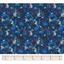 Coated fabric lapin dalmatien