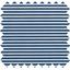 Coated fabric ligne blanc marine ex1001 - PPMC