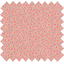 Coated fabric mini pink flower - PPMC